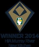 HIA Winner 2014 Murray River New Kitchen